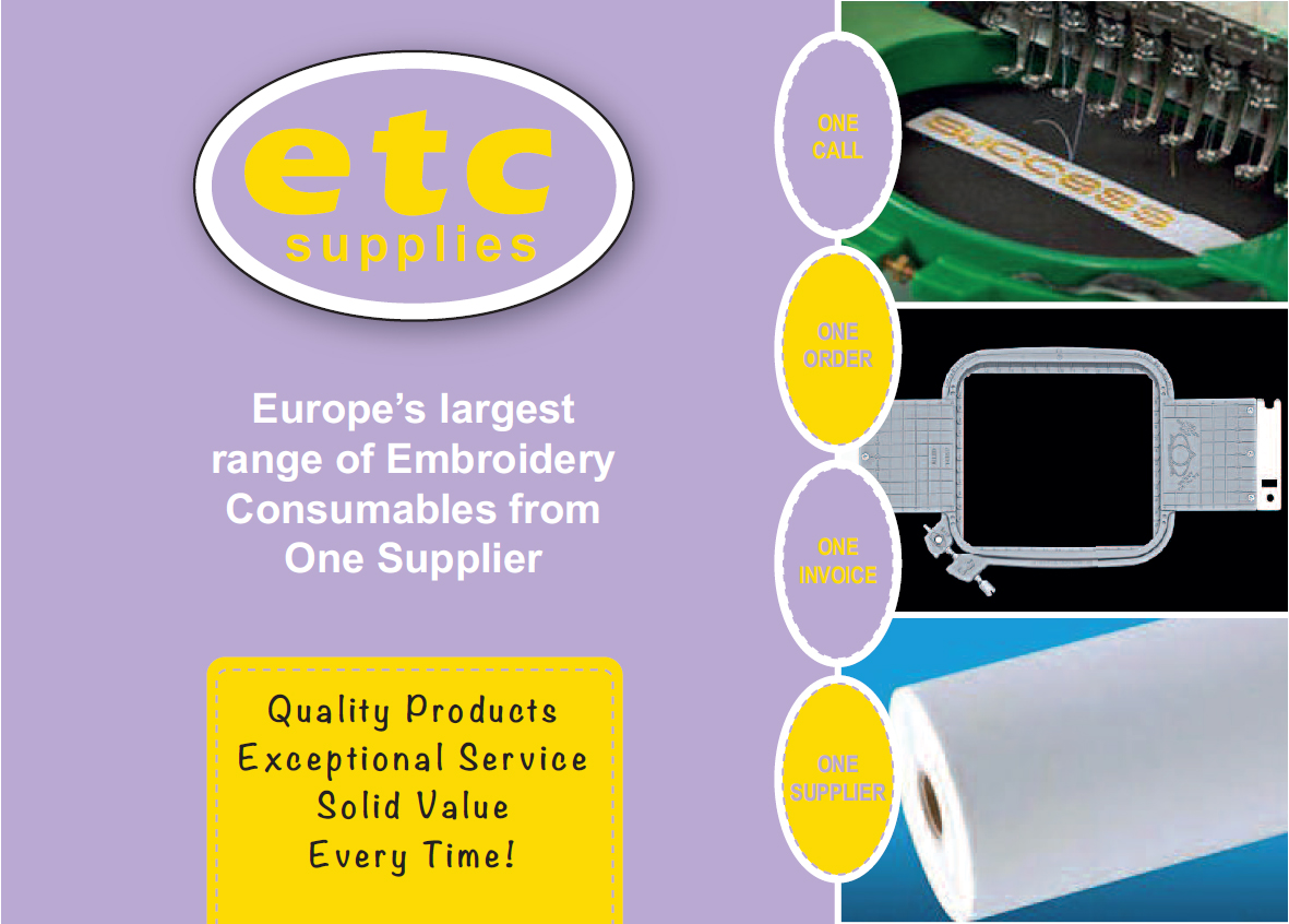 ETC Supplies 2017 Brochure Front Page
